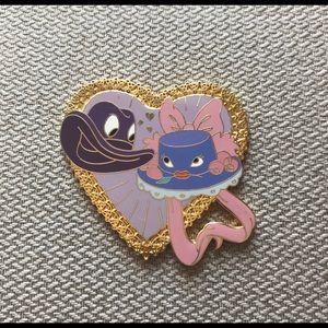 Disney Pin Johnny Fedora & Alice Bluebonnet